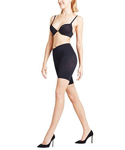 FALKE Damen Cellulite Control W PA Panties, Schwarz (Black 3009), M-L