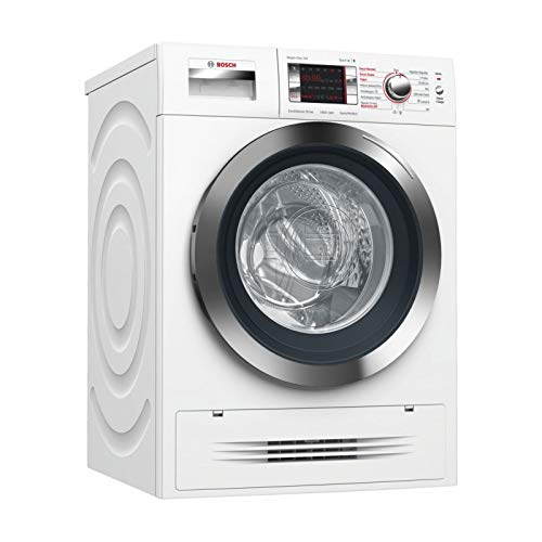 Bosch Serie 6 WVH28471EP Independiente Carga frontal A Blanco lavadora - Lavadora-secadora (Carga frontal, Independiente, Blanco, Izquierda, Botones, Giratorio, LED)