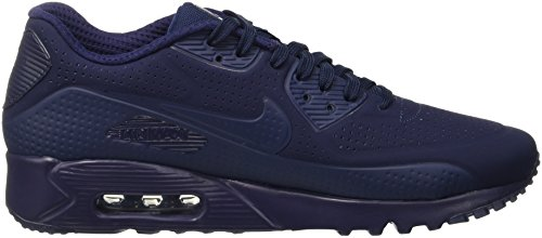 Nike Air Max 90 Ultra Moire, Scarpe da Ginnastica Uomo Blu (Midnight Navy/Midnight Navy/White)