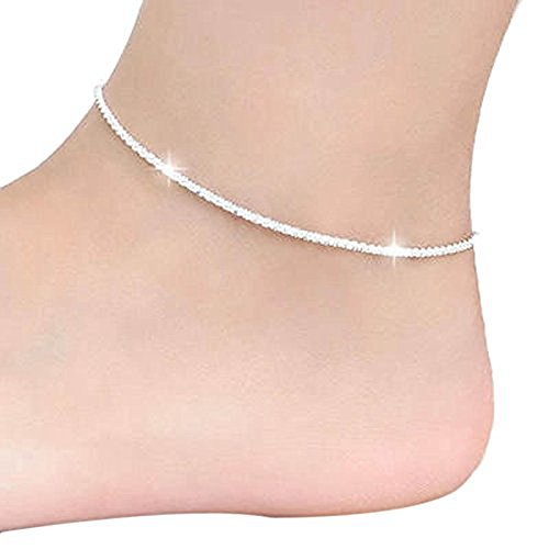 Fulltime(TM) 1 PC Women Chain Ankle Bracelet Barefoot Sandal Beach Foot Jewelry