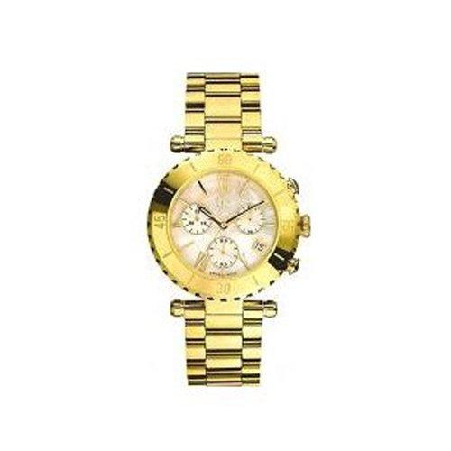 Guess i37000l1–Montre bracelet pour femme, bracelet en titane doré