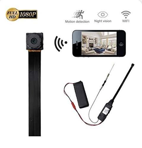 Telecamera Spia WIFI Telecamera Nascosta LXMIMI Mini Spia HD 1080P Wireless Nanny Cam Mini Telecamera di Sicurezza Domestica con Visione Notturna a Bassa Luminosità e Rilevamento del Movimento