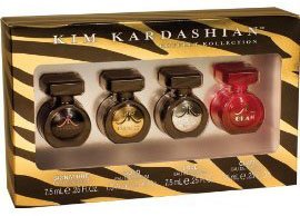 Kim Kardashian - Juego 4 mini regalos colección