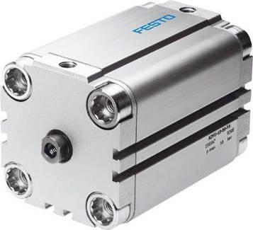 ADVU-40-60-P-A (156548) Kompaktzylinder Hub:60mm Kolben-Durchmesser:40 mm Einbaulage:beliebig