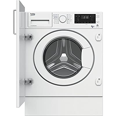 Beko WDIY854310F 8kg Wash 5kg Dry Integrated Washer Dryer - White from Beko