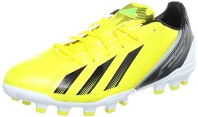 Adidas F10 Trx AG G65338, Chaussure de football homme - Jaune - Gelb (VIVID YELLOW S13 / BLACK 1 / GREEN ZEST S13), 40 2/3 EU
