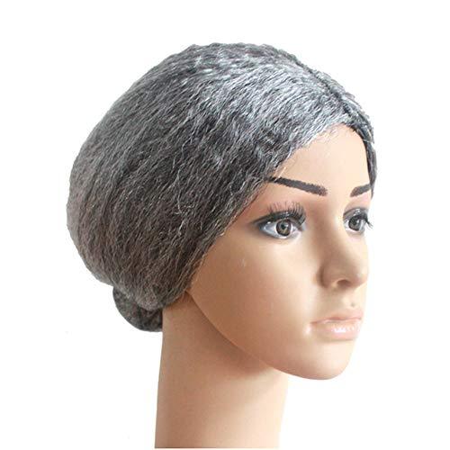 JASZHAO Props Perücke Kreative Alte Dame Cosplay Tragen Grau Halloween Party Leistung Requisiten Perücke DIY Zubehör Headwear