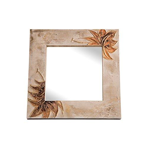 Lohoart L-1151-3 - Espejo Sobre Lienzo Pintado Artesanal