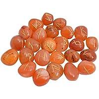 Feng Shui Red Karneol Steine Feng Shui Reiki Crystal Healing Rune Set Tumbled Beschriftung 25 Stk preisvergleich bei billige-tabletten.eu