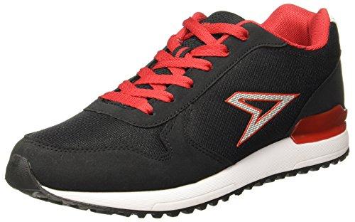 Power Men's Pw Boxer Black Running Shoes - 8 UK/India (42 EU)(8316215)