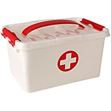 New Arrival - Holong First Aid Kit Emergency Medicine Storage Box with Detachable Tray and Lid