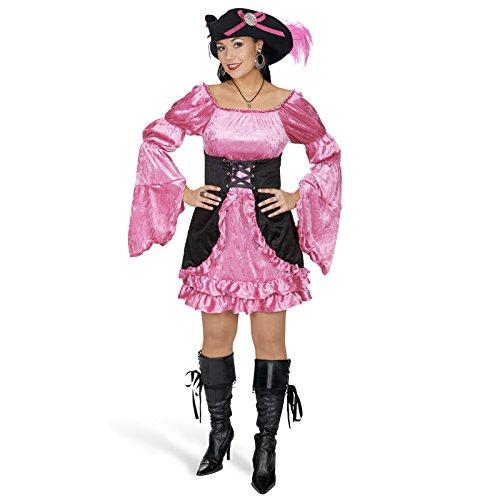 Piratin Kostüm Beauty Mary für Damen Gr. 40 42 - Schönes Piraten Kleid für Karneval oder ()