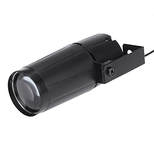 Docooler Spotlight total 5W LED Blanco Beam Pinspot Súper Lligero Lámpara Brillante Bolas de Espejo (1PC)