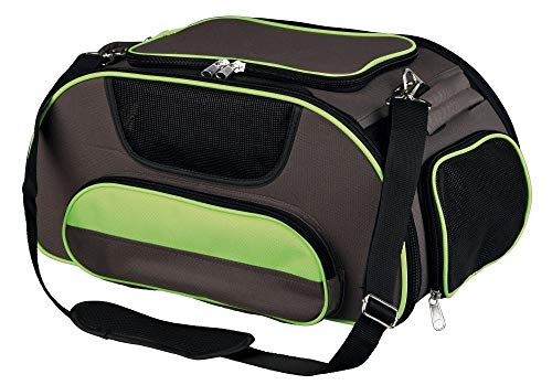 Trixie ali Airlindog Carrier, 46x 28x 23cm, colore: marrone/verde