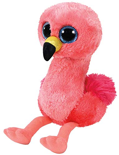Ty - TY36848 - Beanie Boo's - Peluche Gilda le Flamant Rose 15 cm
