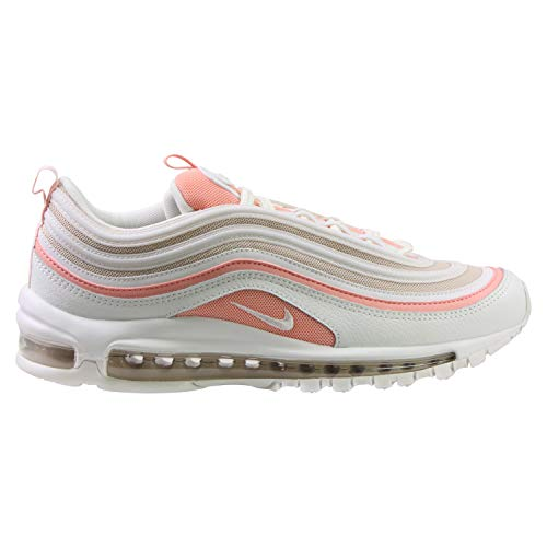 Nike Damen W AIR MAX 97 Traillaufschuhe, Mehrfarbig (Summit White/Summit White-Bleached Coral 104), 41 EU