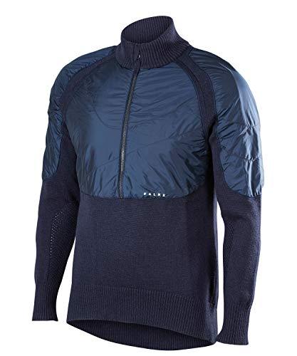 FALKE Herren Pullover Hybrid, space blue, M