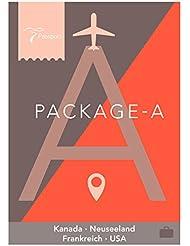 Passport Virtual Active - USB Stick Pack A (Kanada, Neuseeland, Frankreich, USA)
