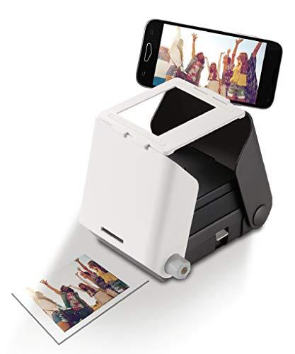 Kiipix - Impresora fotográfica para smartphone sin pilas (Bizak, 30697250)
