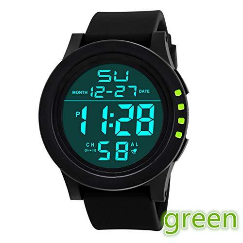 Altsommer Digital Militärarmee Sport Uhr Outdoor Wasserdichte Armbanduhr mit Chronograph und Countdown Uhr,LCD Digital Stoppuhr Datum Silikon für HerrenArmbanduhren,24cm...