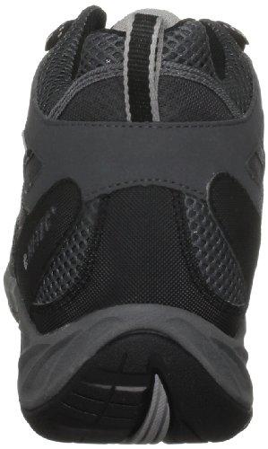 Hi-Tec Tornado, Bottes de randonnée homme Noir (Charcoal/Black)
