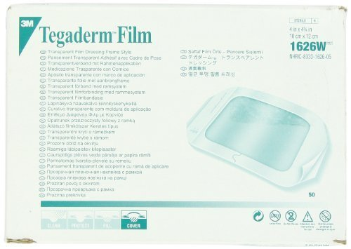 Tegaderm 3M Transparent Dressing with Label 4\\