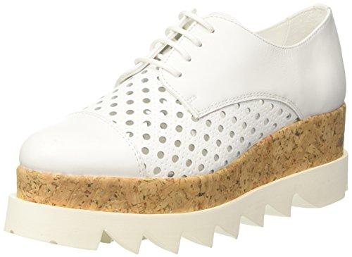 Cult Alice Low 1428, chaussures à lacets femme Bianco