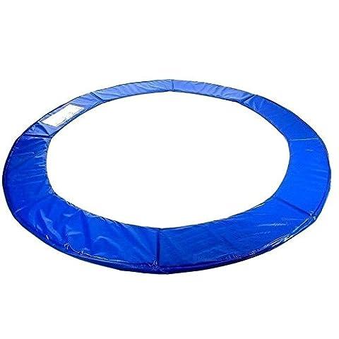Best For Sports Federabdeckung Randabdeckung 244 305 360 366 cm Trampolinzubehör (244 cm)
