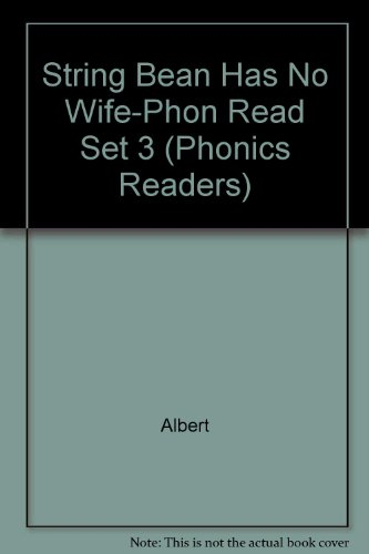 String Bean Has No Wife-Phon Read Set 3 (Phonics Readers)