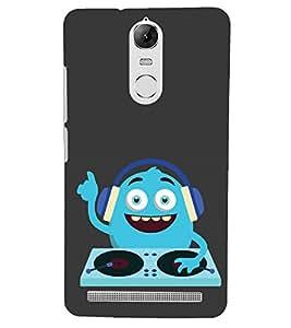 PRINTSHOPPII MUSIC FUNNY Back Case Cover for Lenovo Vibe K5 Note Pro