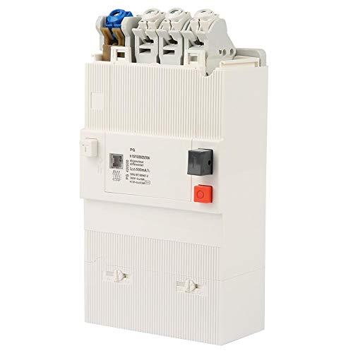 Leistungsschalter, 4-poliger Niederspannungs Sicherungsautomat 50Hz / 60Hz 380 / 480V Leistungsschalter für Energieverteilungssystem, 10-30A - 480v 30 Amp