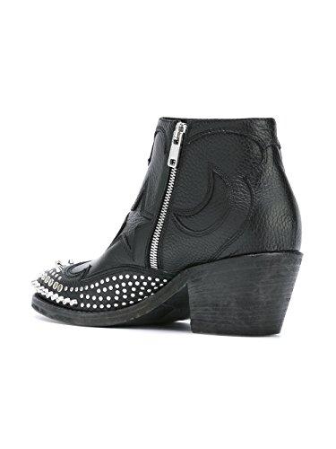MCQ Alexander McQueen, Damen Stiefel & Stiefeletten  Schwarz schwarz 40 (Mcqueen Stiefel Alexander)