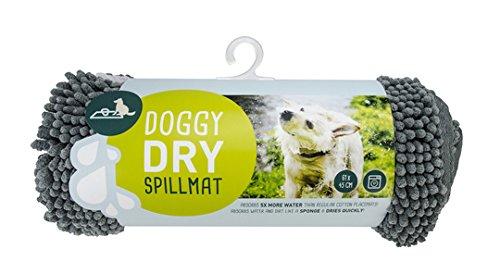 Soggy Doggy microfibra-45x61 cm Tappetino per Cani Super Assorbente in Microfibra, 45 x 61 cm, 45x61x5 cm