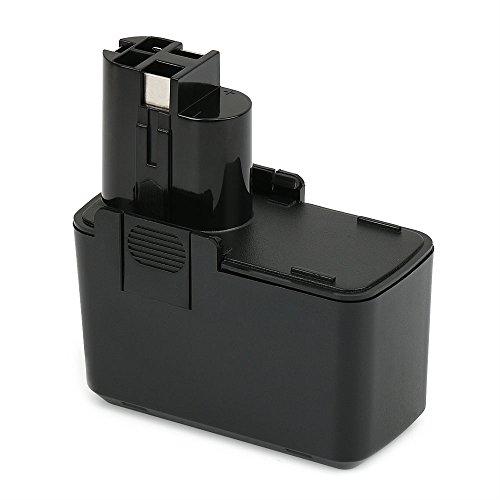 POWERAXIS 9,6V 2,0Ah NiMH Ersatzakku für Bosch BAT001 2607335035 2607335037, Bosch PSR 9.6 VE, PSB 9.6VES-2, PDR 9.6 VE, PBM 9.6 VSP-2, GSR 9.6VES-2, GSB 9.6 VES-2