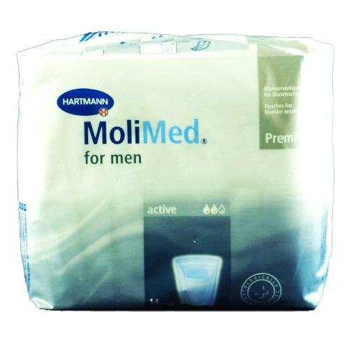Hartmann Molimed For Men attive Confezione da 14 protezione delle vie urinarie