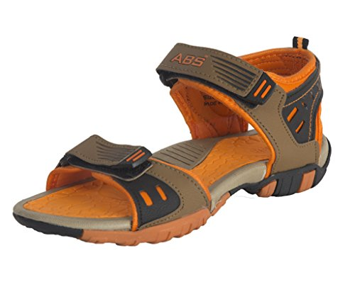 ABS Boys S204 Camel Phylon & TPR Casual Outdoor All Season Athletic Sandals & Floaters - Size 2