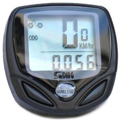 TOOGOO(R) Odometre de velo/compteur de vitesse/sans fil