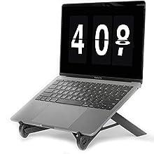 NEXSTAND K7 Lite // New for 2019 // Portable Laptop Stand // Foldable Desktop Notebook Holder Mount- Eye-Level Ergonomic Height Design // Laptop Riser for Notebook, Laptop, iPad and Tablet
