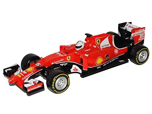 RC Rennwagen kaufen Rennwagen Bild 1: Maisto Ferrari SF70-H Sebastian Vettel Nr 5 Formel 1 2017 27 MHz RC Funkauto 1/24 Modell Auto mit individiuellem Wunschkennzeichen*