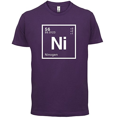 Nino Periodensystem - Herren T-Shirt - 13 Farben Lila