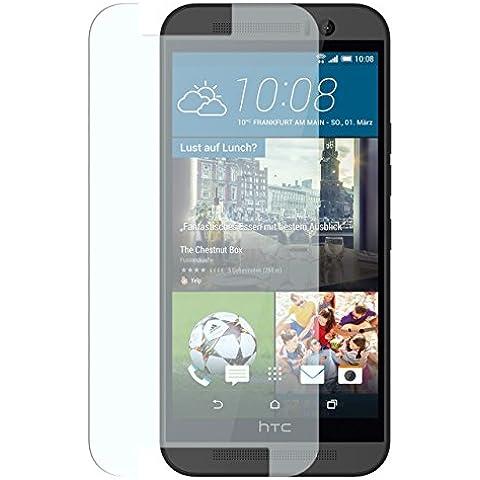 iProtect film protettivo schermo in vetro temperato per HTC One