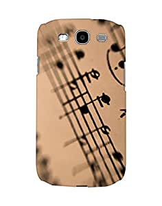 Mobifry Back case cover for Samsung I9300 Galaxy S III Mobile (Printed design)
