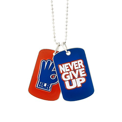 Wwe-anhänger (NEU JOHN CENA-Hustle Loyalty Respect/Never give up 2016 WWE-ANHÄNGER+HALSKETTE DOG TAG PENDANT KETTE)