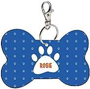 Sky Trends Bone Shape Collar Locket/Pendant for Dogs & Puppy -482, Multicolour, Medium, 1 Count - R