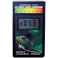 Solarmeter Modell 6.5R Reptile UV-Index Meter, ABS-Polymer, schwarz
