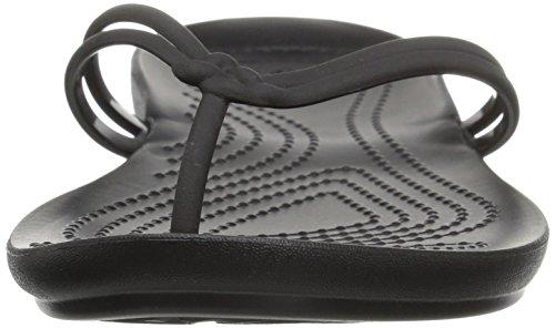 Crocs - Isabella, Sandali infradito Donna Black/black