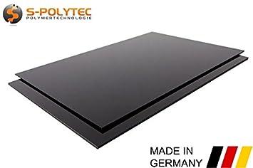 Unterschiedlich ABS Platte Kunststoff Platten SCHWARZ ODER WEIß 1000x490mm in  EF65