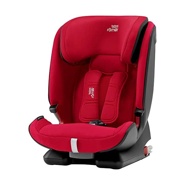 Britax Römer car seat 9-36 kg, ADVANSAFIX Z-LINE Isofix Group 1/2/3, Fire Red Britax Römer Made in germany Flip & grow - change from buckle to secureguard Excellent security concept - with xp-pad, secureguard and pivot link isofix system 1