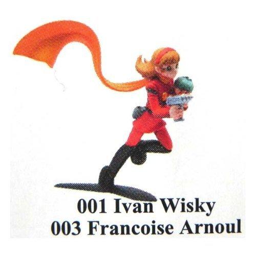Preisvergleich Produktbild Howdy & Kaiyodo | SHOKUGAN Figure | Cyborg 009 - 001 Ivan Wisky, 003 Francoise Arnoul - (japan import)