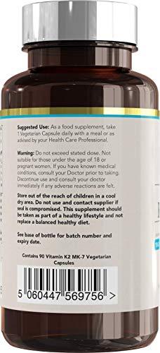 Zoom IMG-2 vitamina k2 mk 7 100
